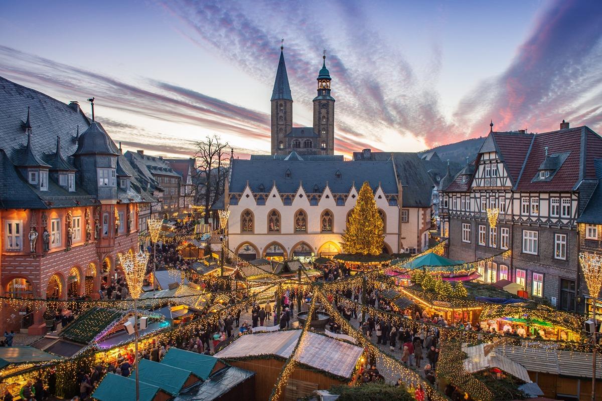 Das Weihnachtsmarkt.Aktuelles Weihnachtsmarkt Weihnachtswald Goslar