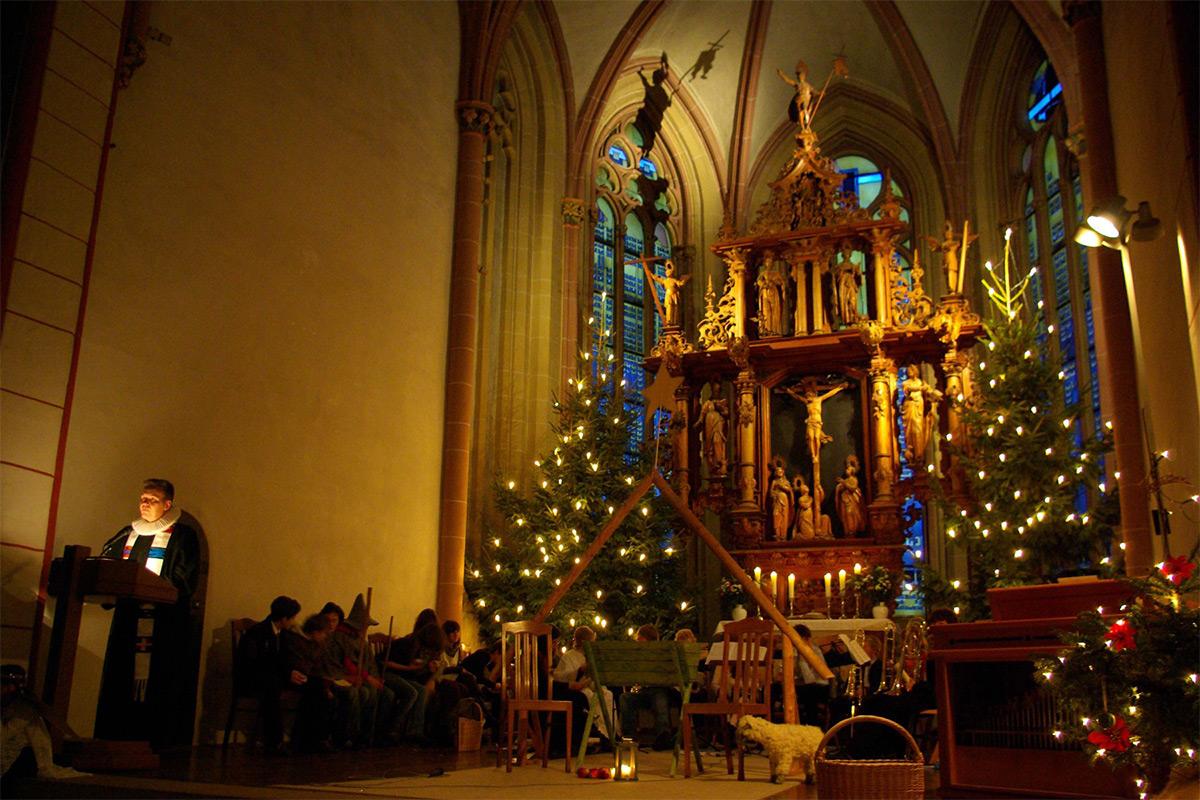 Gottesdienste - Weihnachtsmarkt & Weihnachtswald Goslar