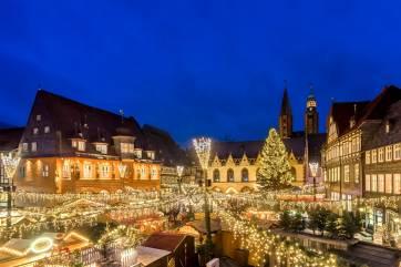 Weihnachtsmarkt und Weihnachtswald Goslar @ Kaiserpfalz, Goslar | Goslar | Niedersachsen | Deutschland